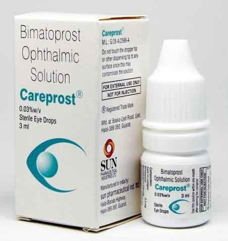 Bimatoprost Eye Drops 0.03, 3 ML  (Generic Version)