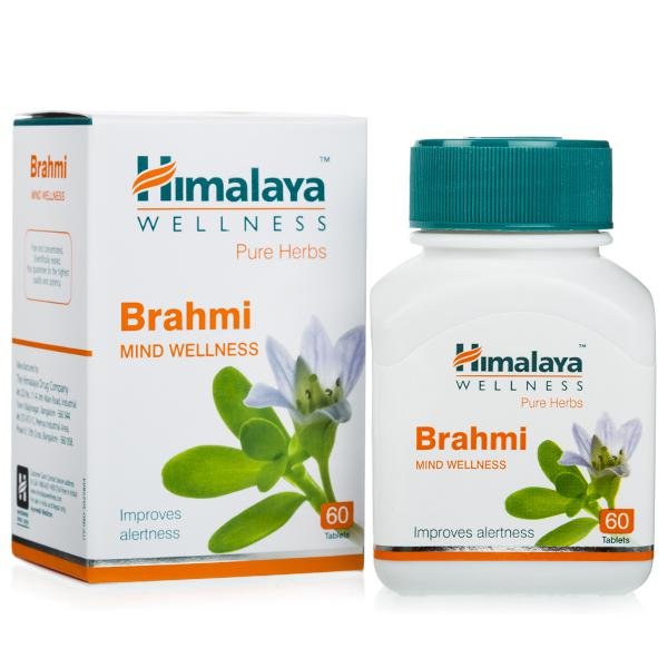 Brahmi Tablet (Mind Wellness) Himalaya Pure Herbs
