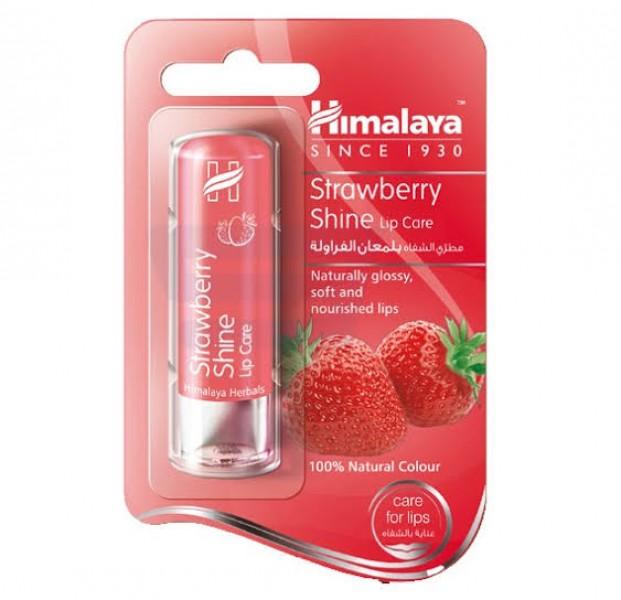 Strawberry 4.5 gm (Himalaya) Shine Lip Care
