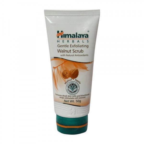 Gentle Exfoliating Walnut 50 gm (Himalaya) Scrub