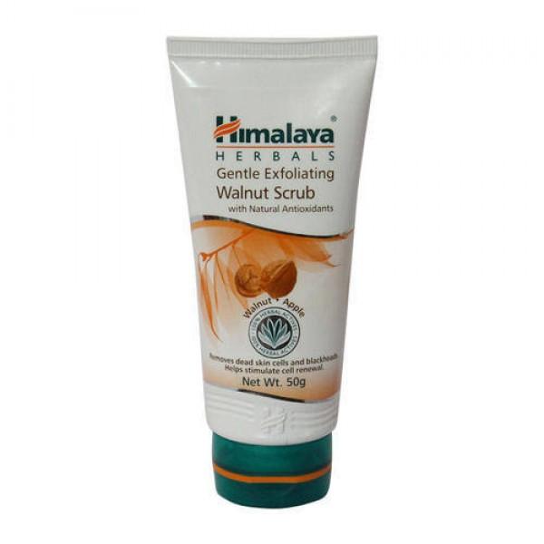Gentle Exfoliating Walnut 50 gm (Himalaya) Scrub