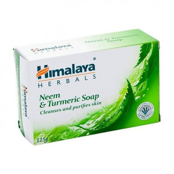Neem & Turmeric Soap 125 gm (Himalaya) Soap