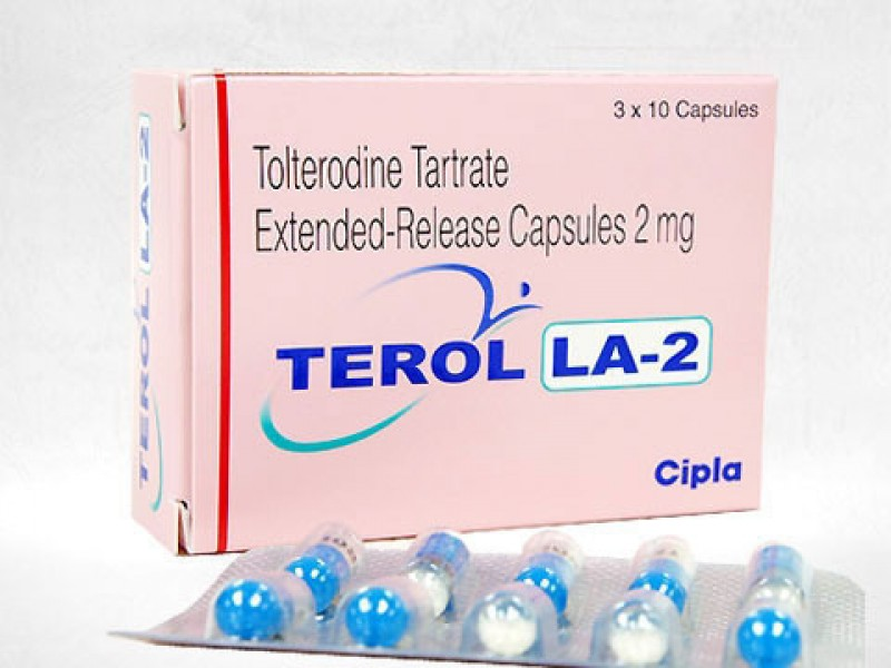 Generic Detrol LA 2 mg Caps