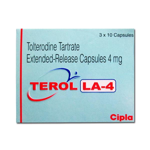 Generic Detrol LA 4 mg Caps