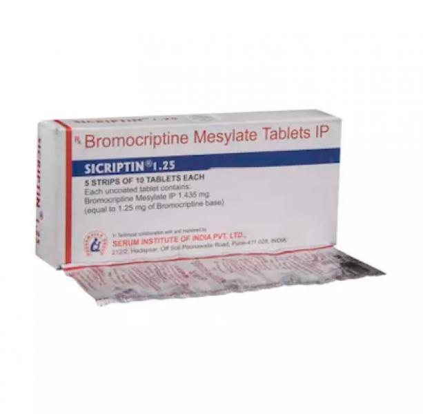 Generic Parlodel 1.25 mg Tab