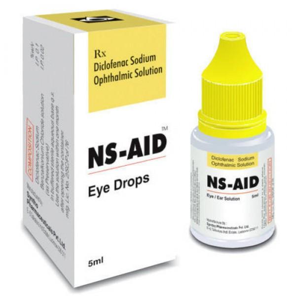 Generic Voltaren 0.1 % Eye Drops  of 5 ml