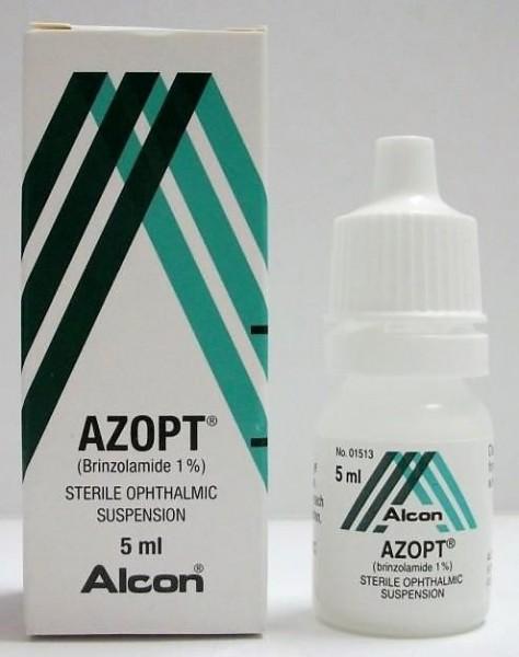 Azopt 1 % Eye Drops of 5 ml ( Global Brand variant )
