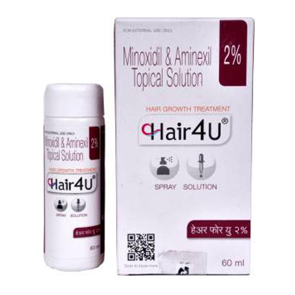 Generic Minoxidil ( 2 % ) + Aminexil ( 1.5 % ) 60ml Bottle