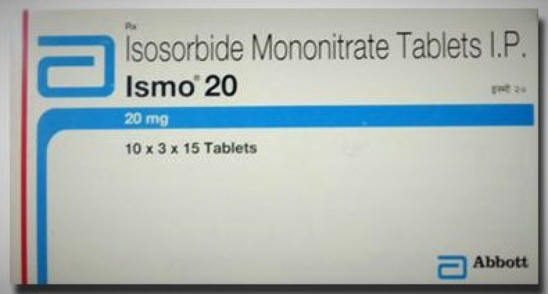 Ismo 20 mg Tab ( Global Brand Variant )