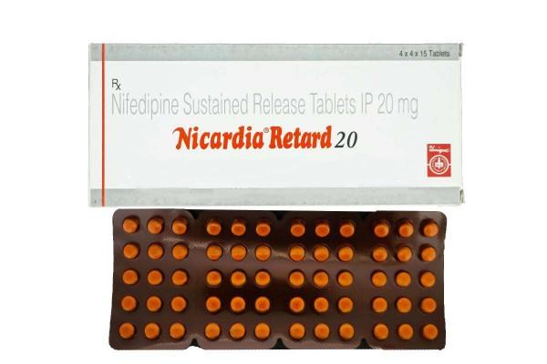 Generic Procardia 20 mg Tab