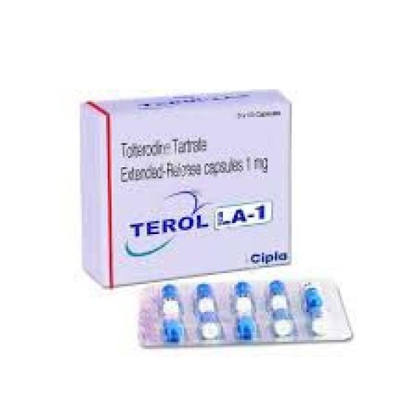 Generic Detrol LA 1 mg Caps