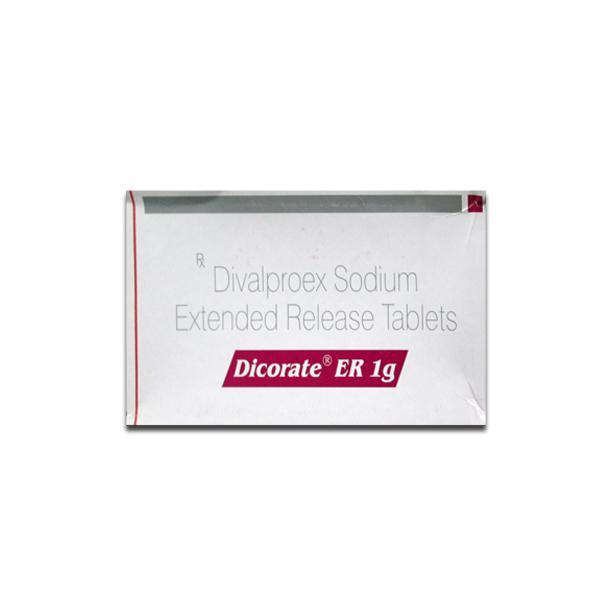 Generic Depakote ER 1 g Tab
