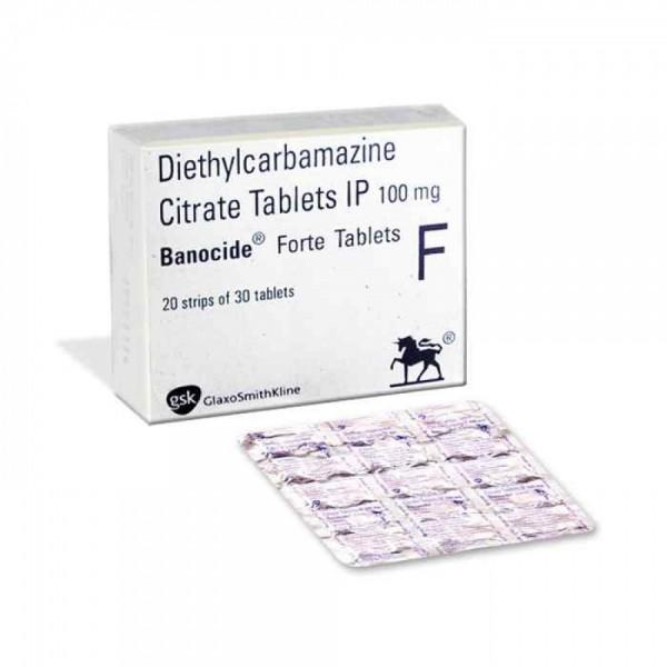 Generic Diethylcarbamazine 100 mg Tab
