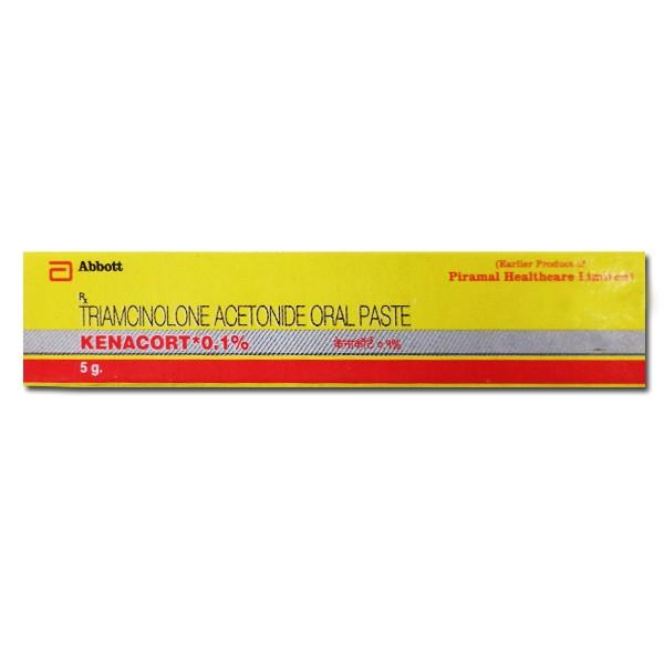 Generic Triamcinolone Acetonide 0.1 % Paste 5gm