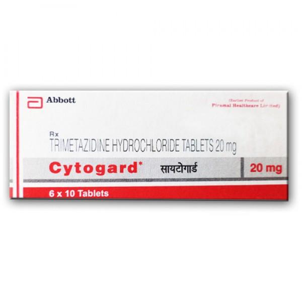 Generic Trimetazidine 20 mg Tab