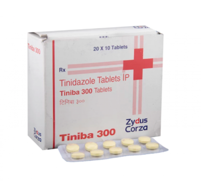 Generic Tinidazole 300 mg Tab