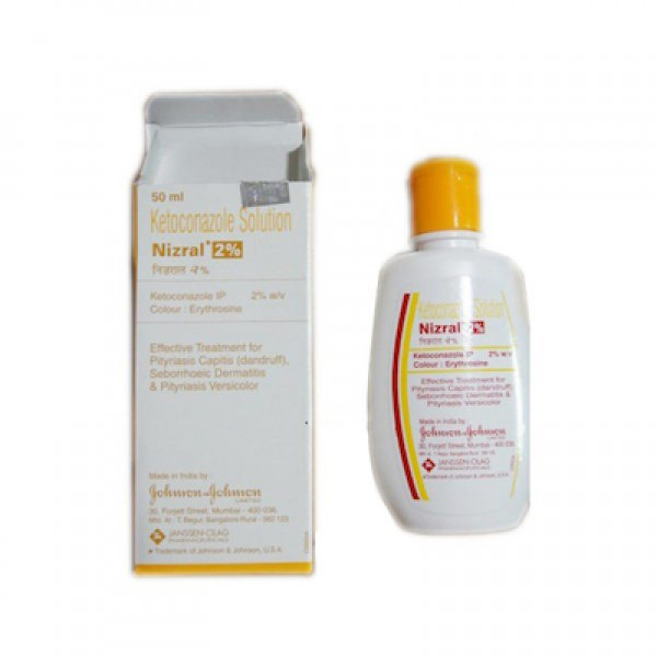 Generic Nizoral 2 % Solution 50 ml