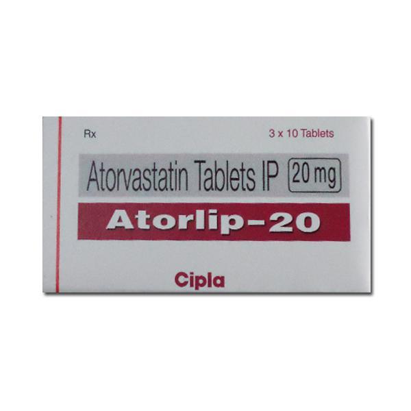 Lipitor 20mg Tablets (Generic Equivalent)