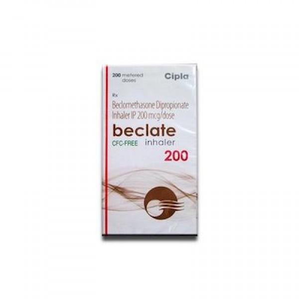 GENERIC QVAR 200 mcg inhaler ( 200 Doses each ), Equal to 160 mcg