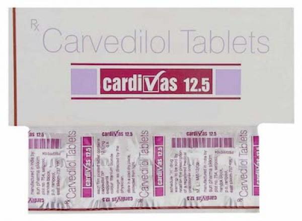 Coreg 12.5mg Tablets (Generic Equivalent)