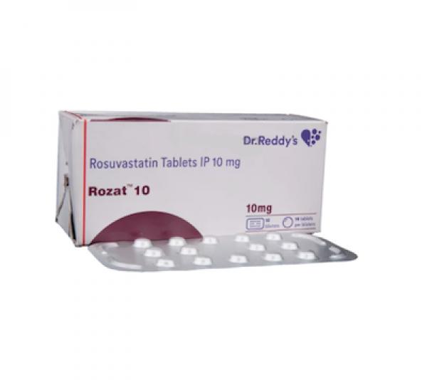 Crestor 10mg Tablets (Generic Equivalent)