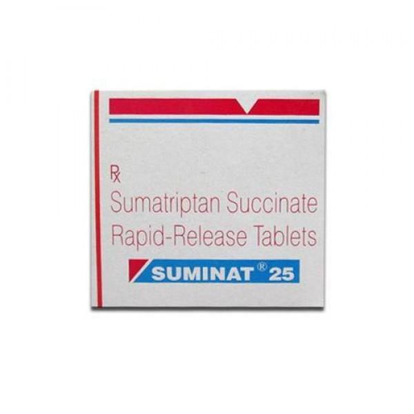 Imitrex  25mg Tablets (Generic Equivalent)