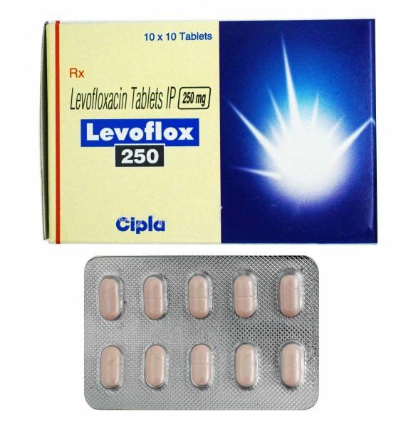 Levaquin 250mg tablets (Generic Equivalent)