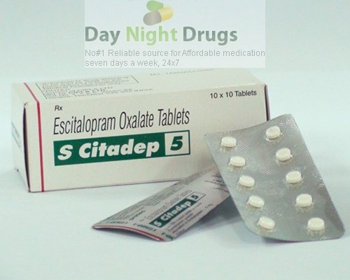 Lexapro 5mg Tablets (Generic Equivalent)