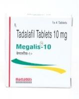 Box of generic Tadalafil 10mg tablets
