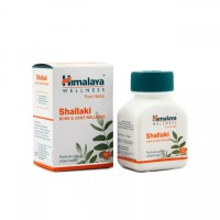 Box and a bottle of Shallaki Tablet (Bone & Joint Wellness) Himalaya Pure Herbs