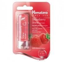 A pack of Strawberry 4.5 gm (Himalaya) Shine Lip Care Balm