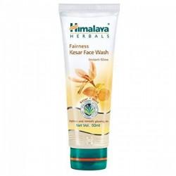 A tube of Fairness Kesar 50 ml (Himalaya) Face Wash