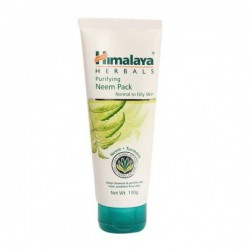 A tube of himalaya's Purifying Neem 100 gm Pack