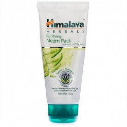 A tube of himalaya's Purifying Neem 50 gm Pack