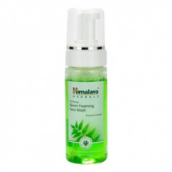 A bottle of Purifying Neem 50 ml (Himalaya) Foaming Face Wash