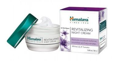 Box pack and a jar of himalaya's Revitalizing Night 50 gm Cream