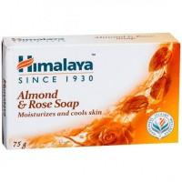 Himalaya's Almond & Rose 75 gm Soap Bar