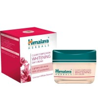 Box pack and a jar of Himalaya's Clear Complexion Whitening Day Cream 50 gm