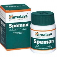 Box and a bottle of Speman Tablet Himalaya Herbal Healthcare