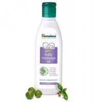 Bottle of Himalaya's Baby massage Oil 100 ml