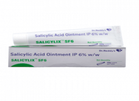 Tube and a box of generic Salicylic Acid 6 % Ointment