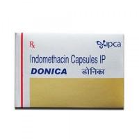 Box of Generic Indocin 25 mg Caps - Indomethacin