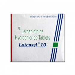 Box pack of Generic Zanidip 10 mg Tab - Lercanidipine