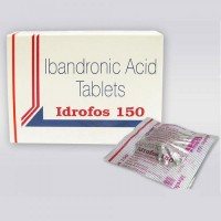 Box pack and a strip of Generic Boniva 150 mg Tab -  Ibandronic Acid