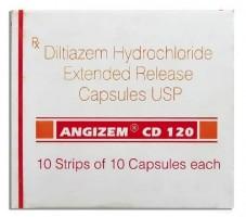 Box of Generic Cardizem 120 mg Caps - Diltiazem