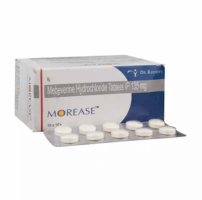Box and a strip of generic Mebeverine (135mg) Tab