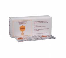 Box and a strip of Generic Prostigmin 15 mg Tab - Neostigmine