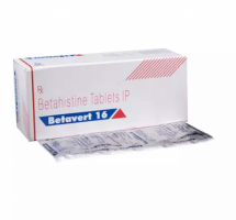 Box and a strip of Generic Betaserc 16 mg Tab - Betahistine