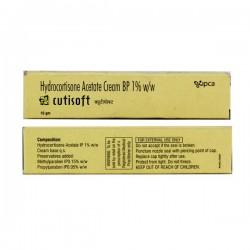 A box pack of Generic Cortifoam 1 % Cream 15gm tube - Hydrocortisone