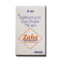Box of generic Azithromycin 1 %  Eye Drop  3 ml